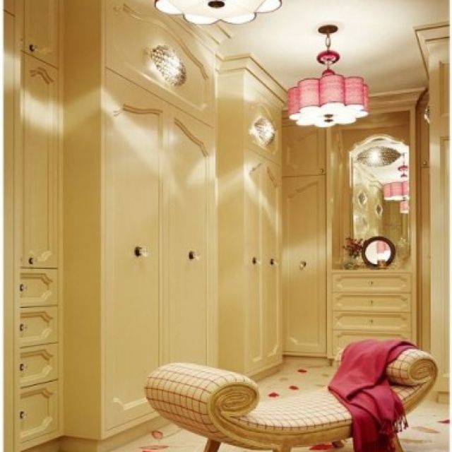 Love the chair for the closet