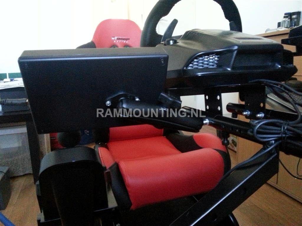 Montage buttonbox GT Omega Simulator - Rammounting.nl
