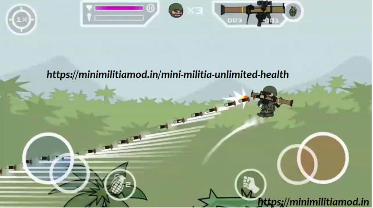 Mini Militia Unlimited Health Hack Apk Download [Latest