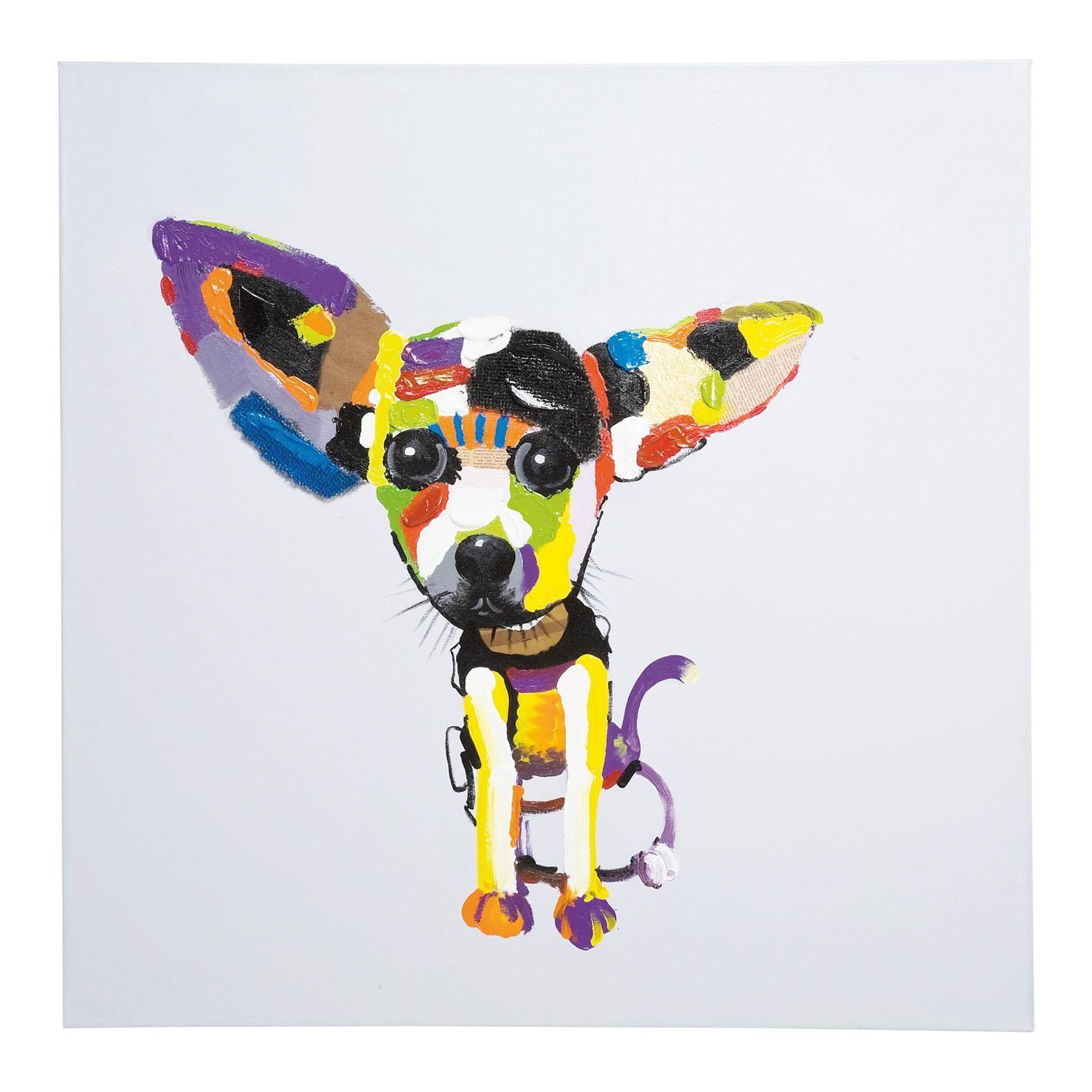 Chihuahua Oil Painting Achica Hallway Pinterest # Saja Muebles Chihuahua