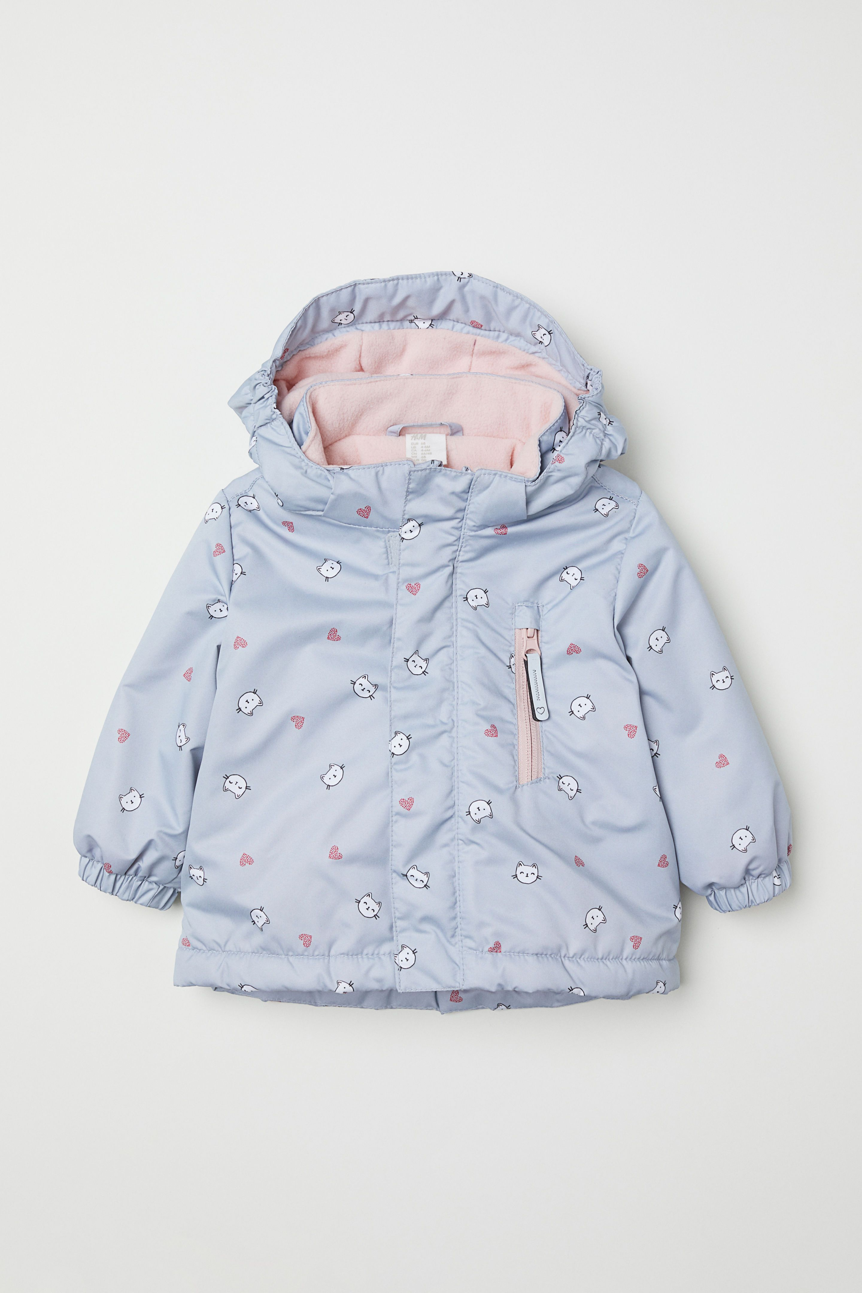 ef61c3dff0ee H M Padded Outdoor Jacket - Pink in 2019