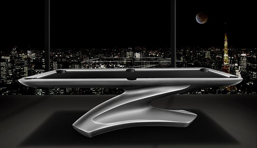 Jason Farsai\'s Pool Table complements the luxurious lifestyle ...