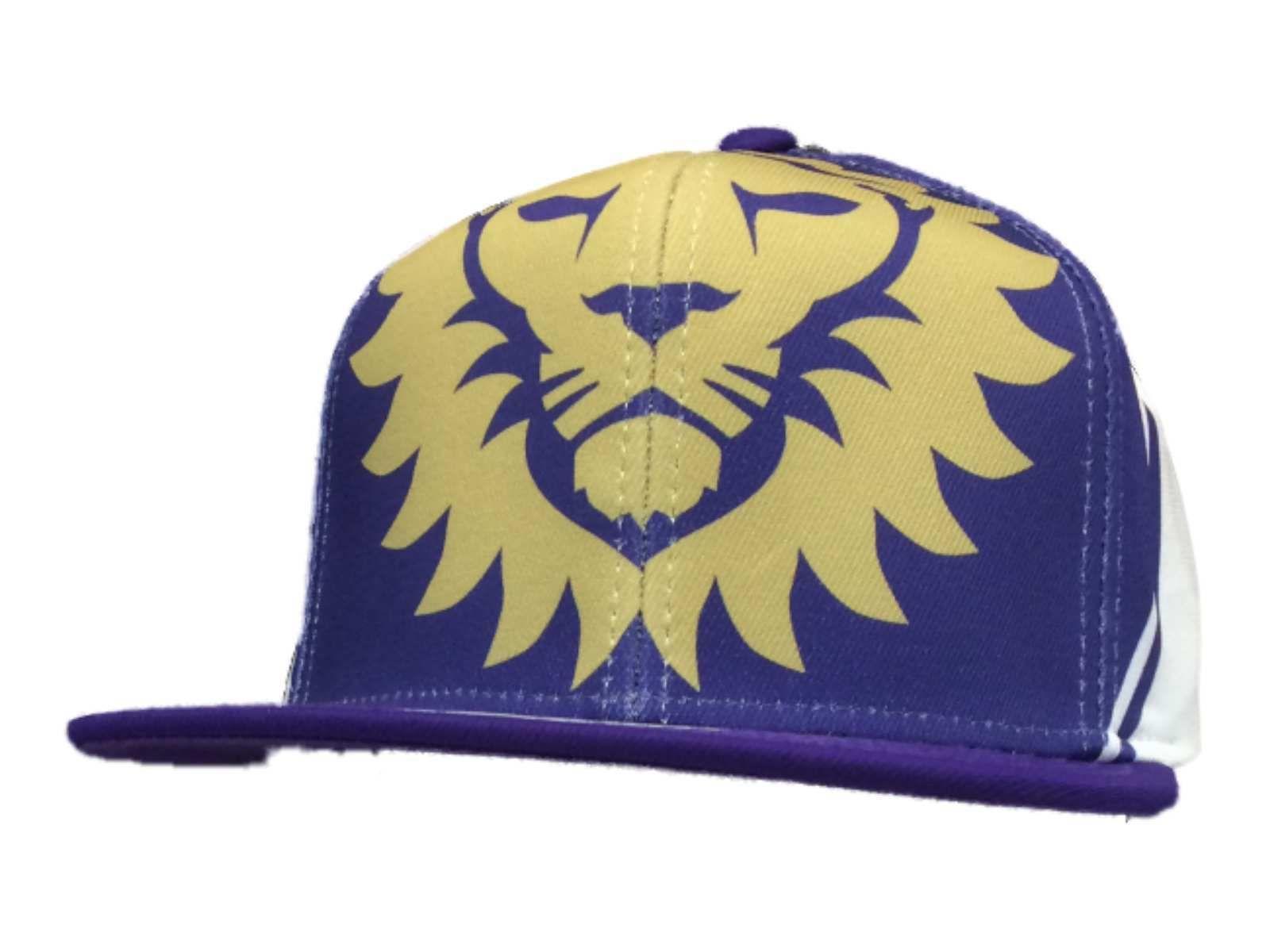 48df5d0e48e Orlando City SC Adidas Purple Large Logo Structured Snapback Flat Bill Hat  Cap in Sports Mem