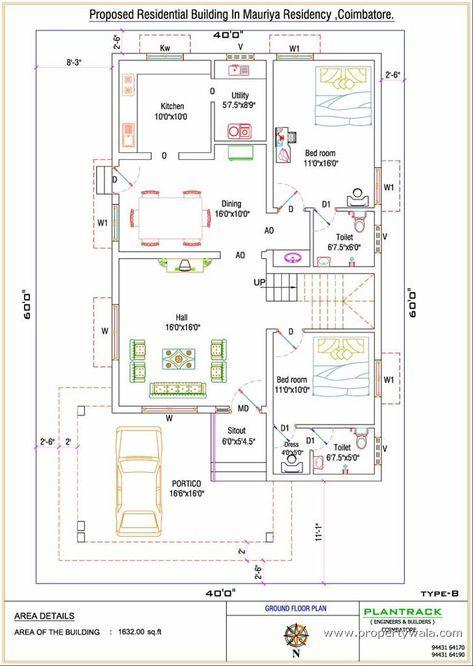 Duplex house plan for north facing plot feet by  unforgettable vastu plans free best of sq ft also rh pinterest