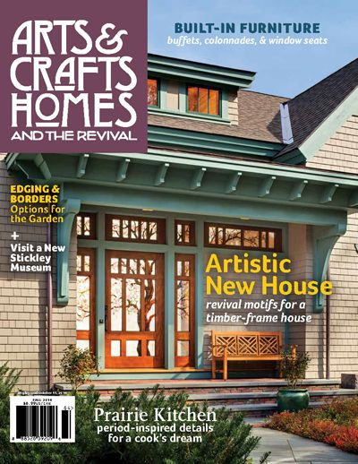 Arts Crafts Homes And The Revival Expert Advice Perspective For Those Building
