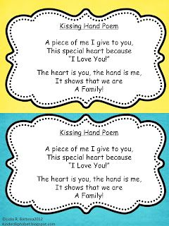 The Kissing Hand First Day Of School Stuff Family Theme Preschool