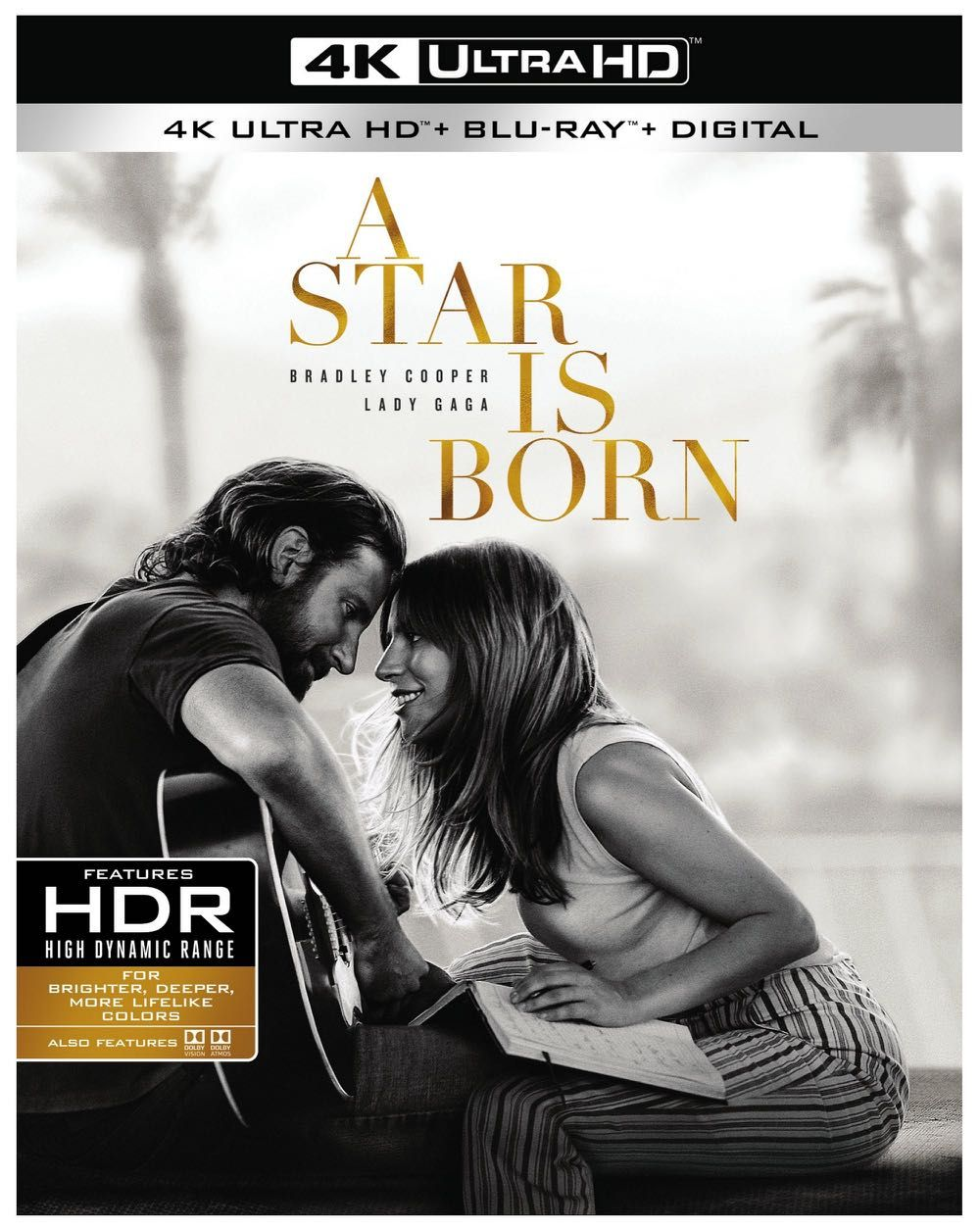 A Star Is Born 4k Blu Ray And Dvd Release Details A Star Is