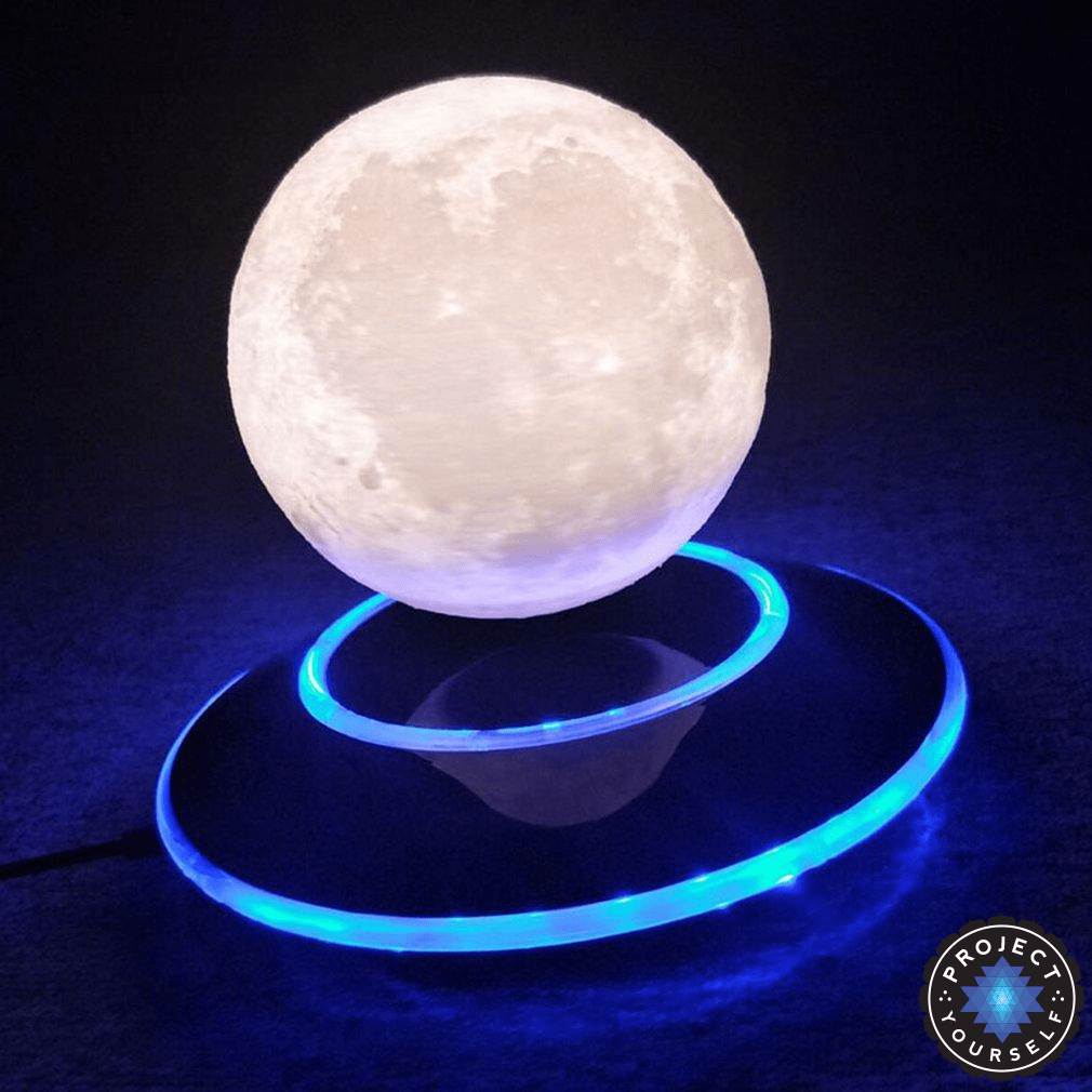Levitating Mystic Moon Lamp The Beauty Of The Moon In The Palm Of Your Hand Throughout History The Moon Has Been A Div Led Night Light Night Light Levitation