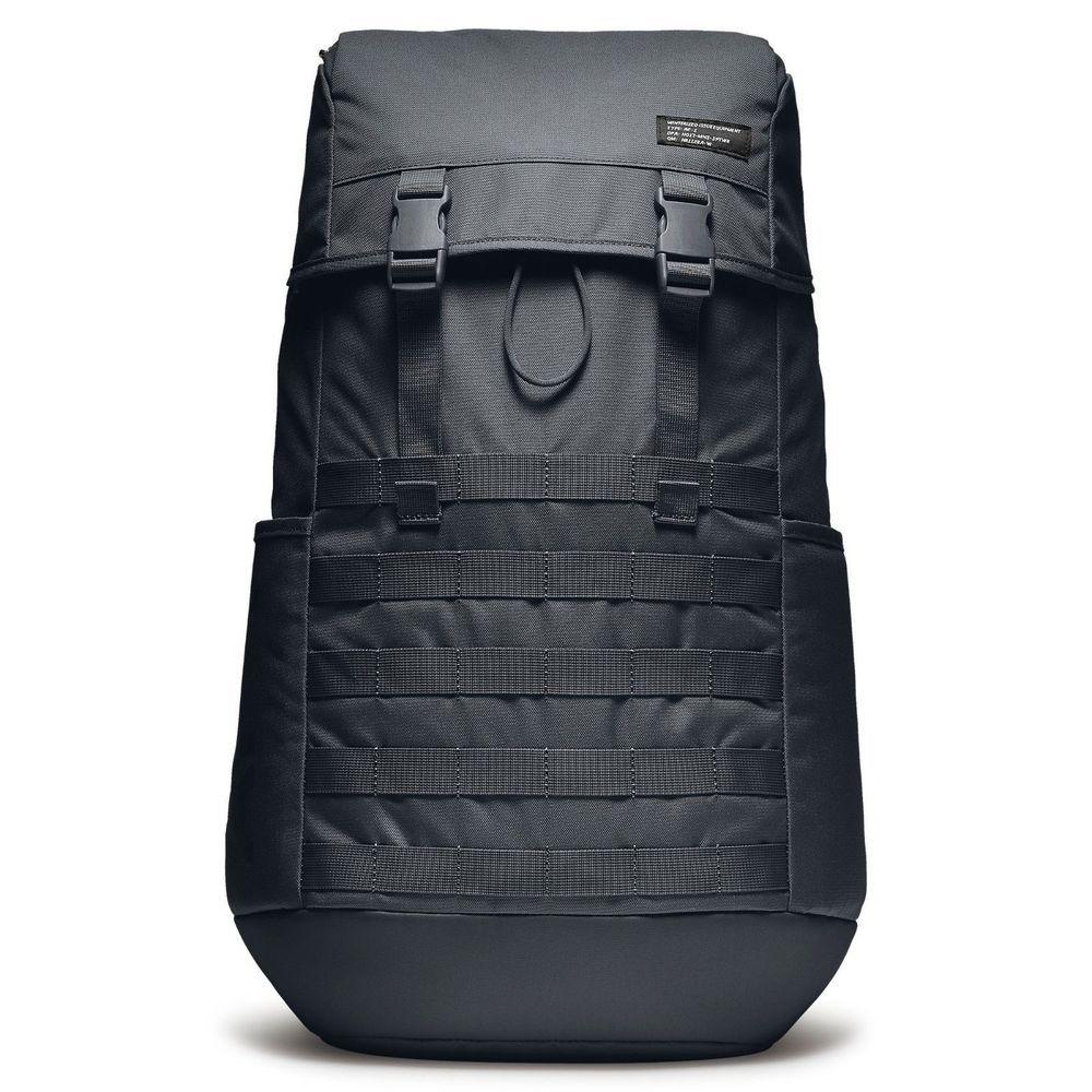 Nike Sportswear AF1 Air Force Backpack BA5731-010 Triple Black 15