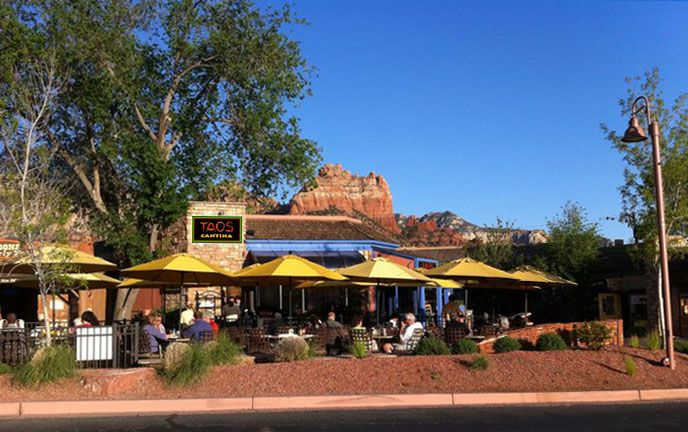 Taos Cantina Best Mexican Food In Sedona Uptown