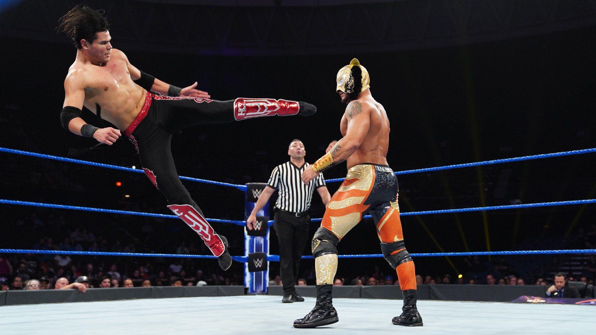 Lince Dorado Def Humberto Carrillo Wwe Raw Results Raw