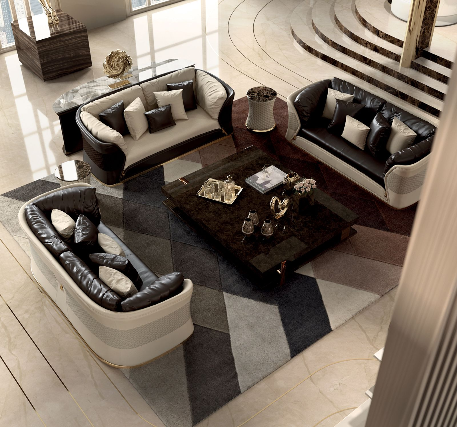 Italian Furniture for exclusive and modern design Living