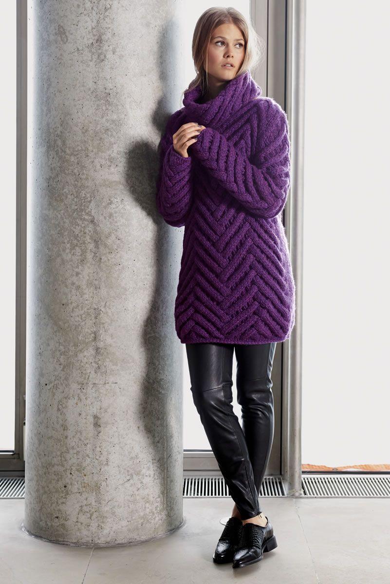 Lana Grossa LANGER ZOPFPULLOVER AM Superbaby - Design Special No. 2 -  Modell Seite 54dc197373