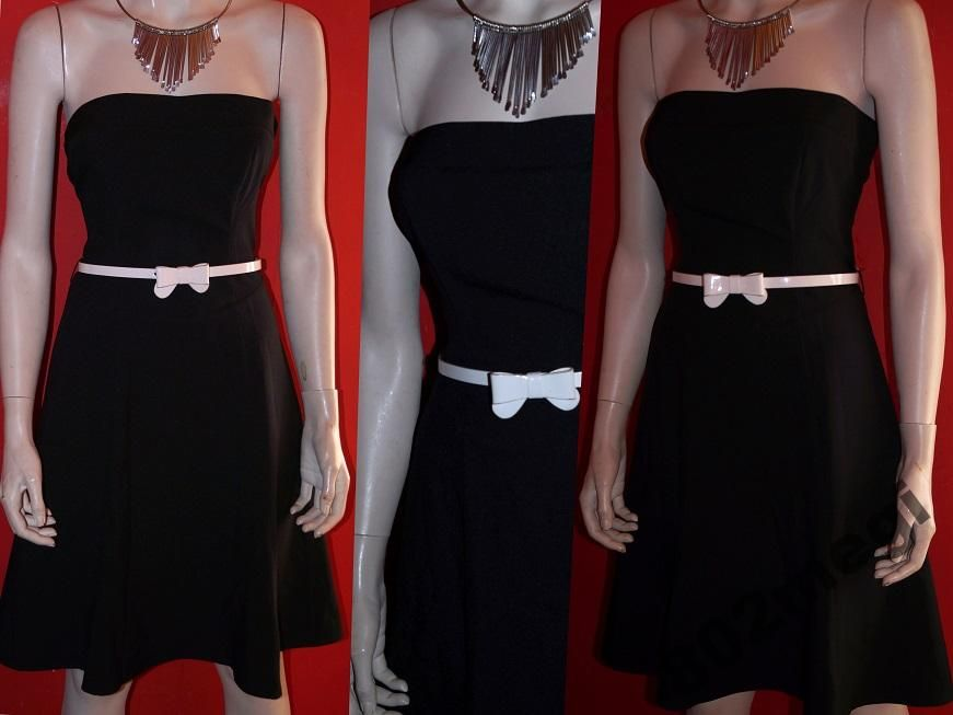 Kit Oryginalna Sukienka Czarna Lato 36 38 4943369123 Oficjalne Archiwum Allegro Dresses Fashion Strapless Dress