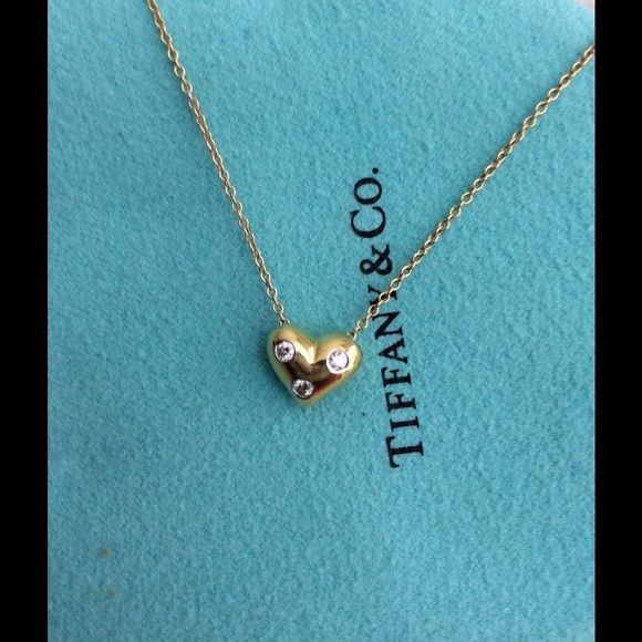 Selling this authentic tiffany etoile diamond heart pendant in my selling this authentic tiffany etoile diamond heart pendant in my poshmark closet my username is aloadofball Image collections