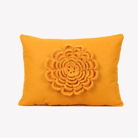Flower Cushion Cover $50.00 · Flower PillowCushion CoversBusiness Ideas MustardCushions