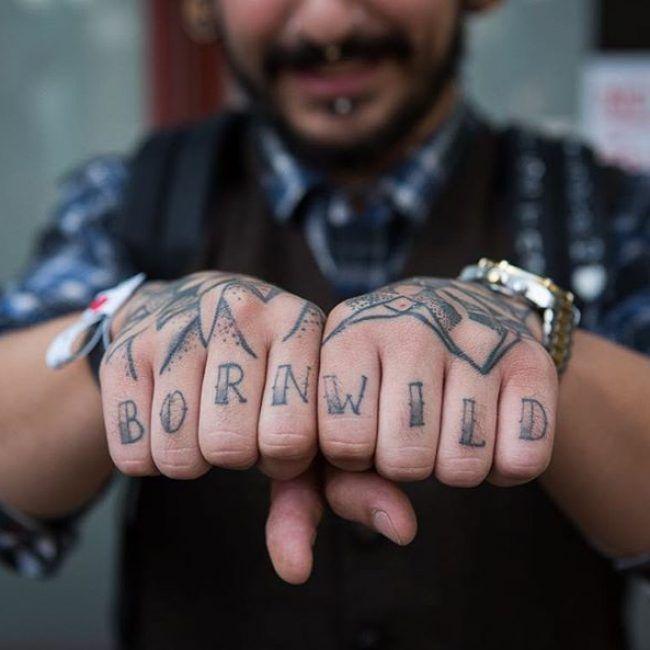 b2f339415 knuckle+tattoos   Tattoos   Knuckle tattoos, Finger tattoos, Tattoo ...