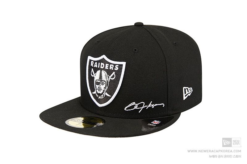 2225d10f Oakland Raiders Bo Jackson 59Fifty Fitted Cap by NEW ERA x NFL New ...