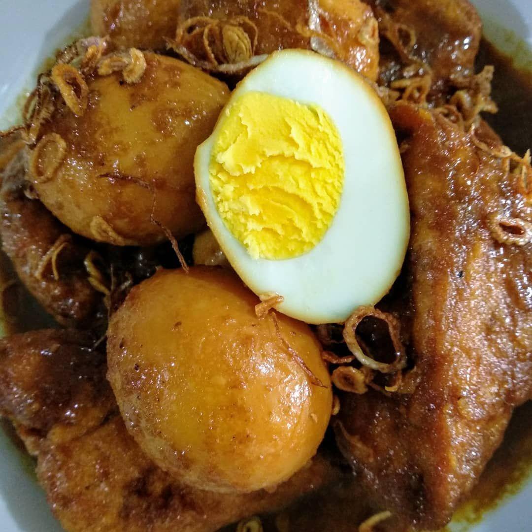 Resep Semur Tahu Telur Sederhana Hanya 3 Langkah Saja Resep Makanan Pot Roast Telur