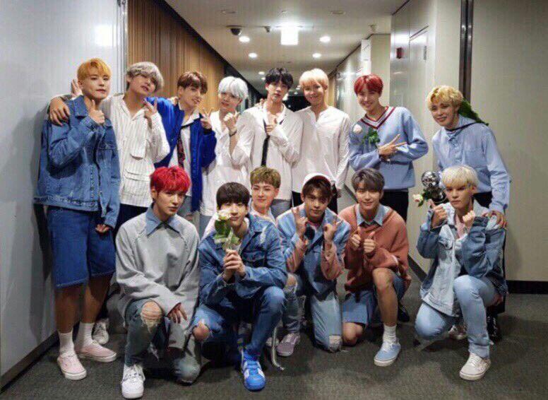 BTS and VICTON~ ❤ #BTS #방탄소년단