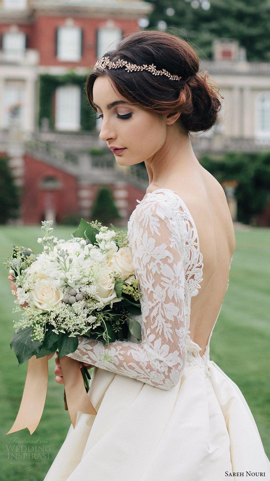 Sareh nouri fall wedding dresses u lookbook ball gowns fall