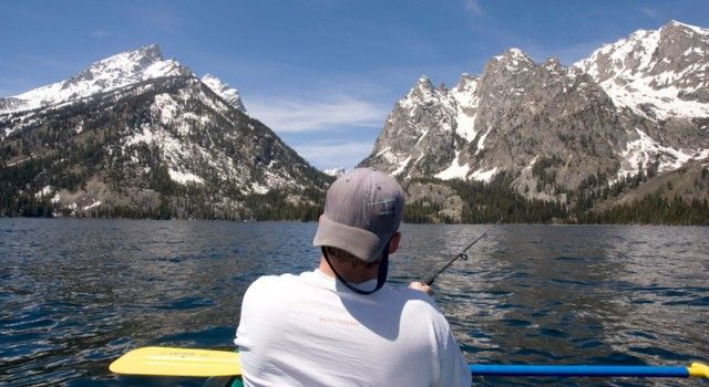 Mtn. Pulse Photo of the Day – Fishing on Jenny Lake