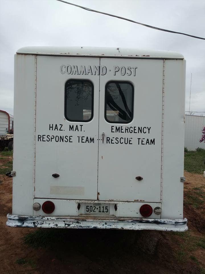1974 Chevrolet P20 Ebay Motors Other Vehicles Amp Trailers Commercial Trucks Ebay Step Van Chevy Emergency Response Team