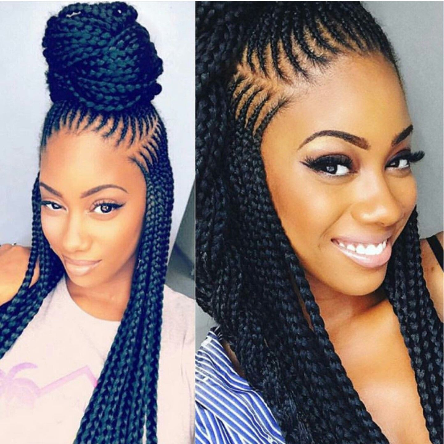 Pin By Gess On Braids Braided Hairstyles Hair Styles African Braids Hairstyles