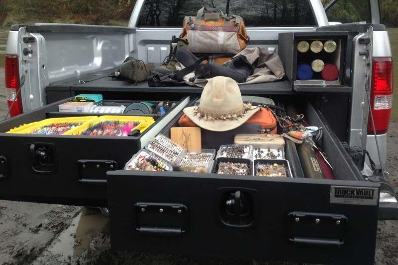Truck Vault Drawer System Trucks Truck Bed Storage Ford Trucks