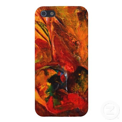 Abstract Art 3D Blue Ear iPhone 5 Cover
