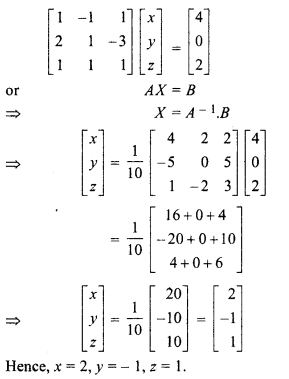 Rbse Solutions For Class 12 Maths Chapter 5 Inverse Of A Matrix And Linear Equations Ex 5 2 Rbsesolutions Rbsesoluti In 2020 Class 12 Maths 12th Maths Studying Math