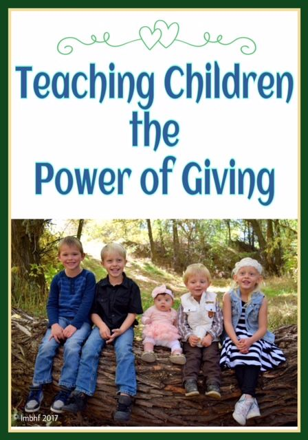Giving. Teaching children the power of giving. Practical tips to help teach your children empathy and generosity and to raise kids that give to others.