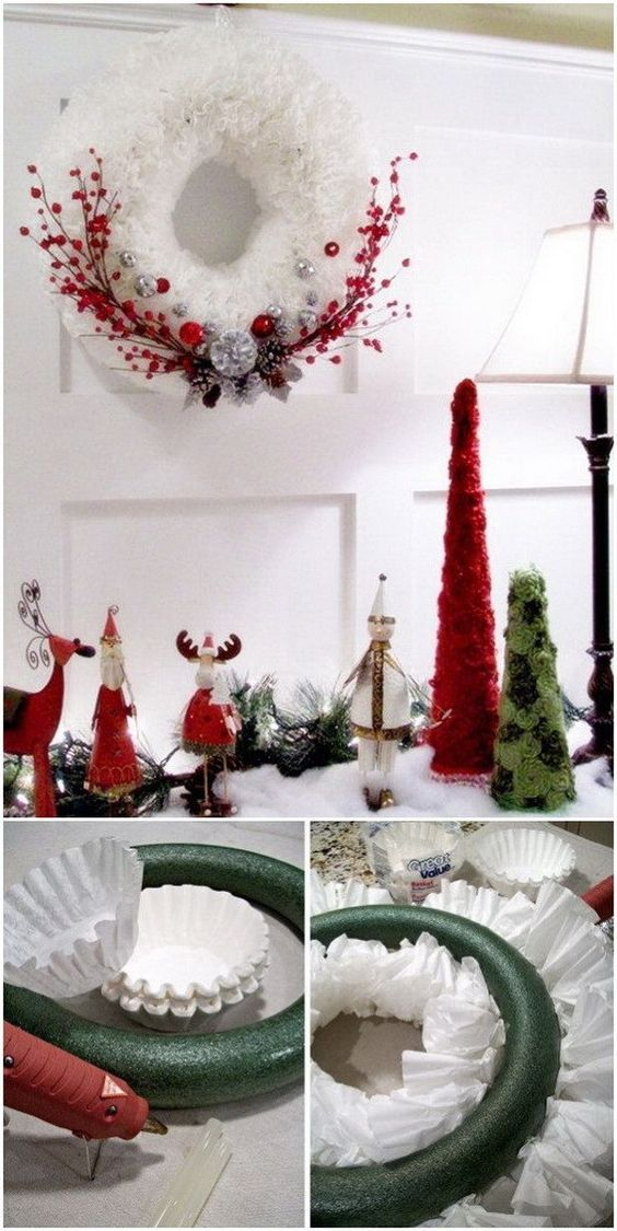 30+ Festive DIY Christmas Wreaths with Lots of Tutorials