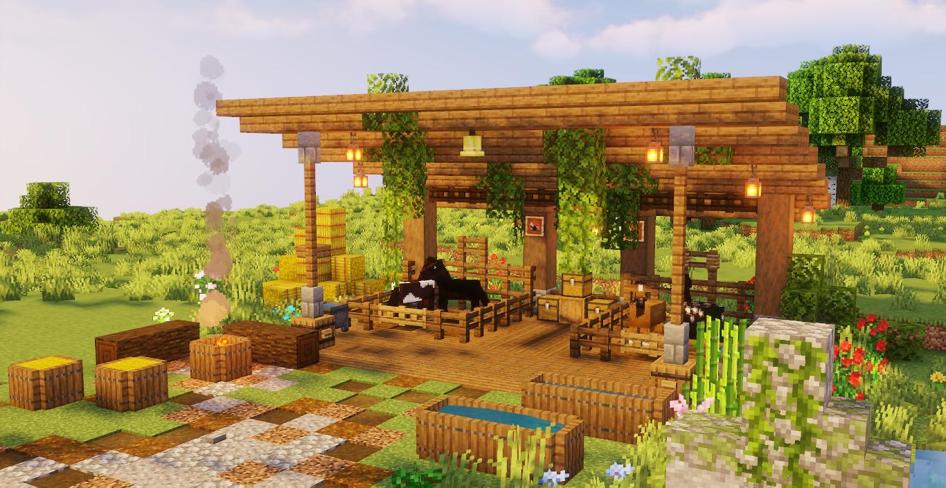 Construisez Votre Premier Jardin Minecraft Avec Nos 13 Conseils Utiles Jardin Zenidees En 2020 Manoir Minecraft Minecraft Maisons Minecraft Faciles