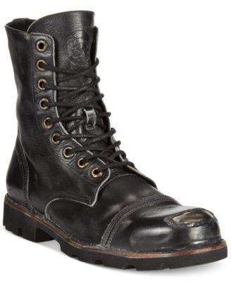 dc70e53d1fd Diesel Hardkor Steel Toe Boots | macys.com | Fashion in 2019 | Boots ...
