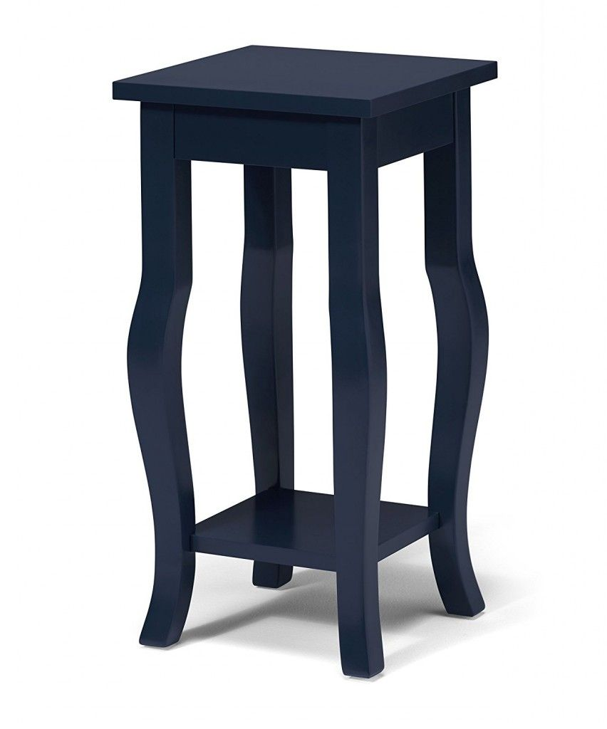 Delightful Navy Blue End Table