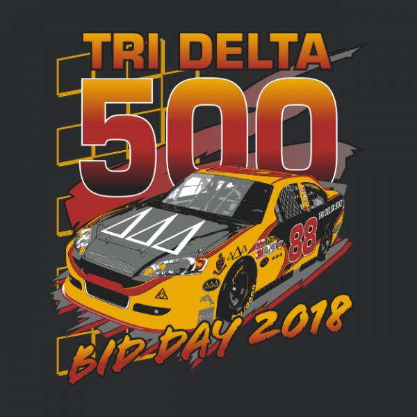 df6a9028 NASCAR Bid Day Shirt | Greek House | Greek Apparel | Sorority Shirts | Greek  T
