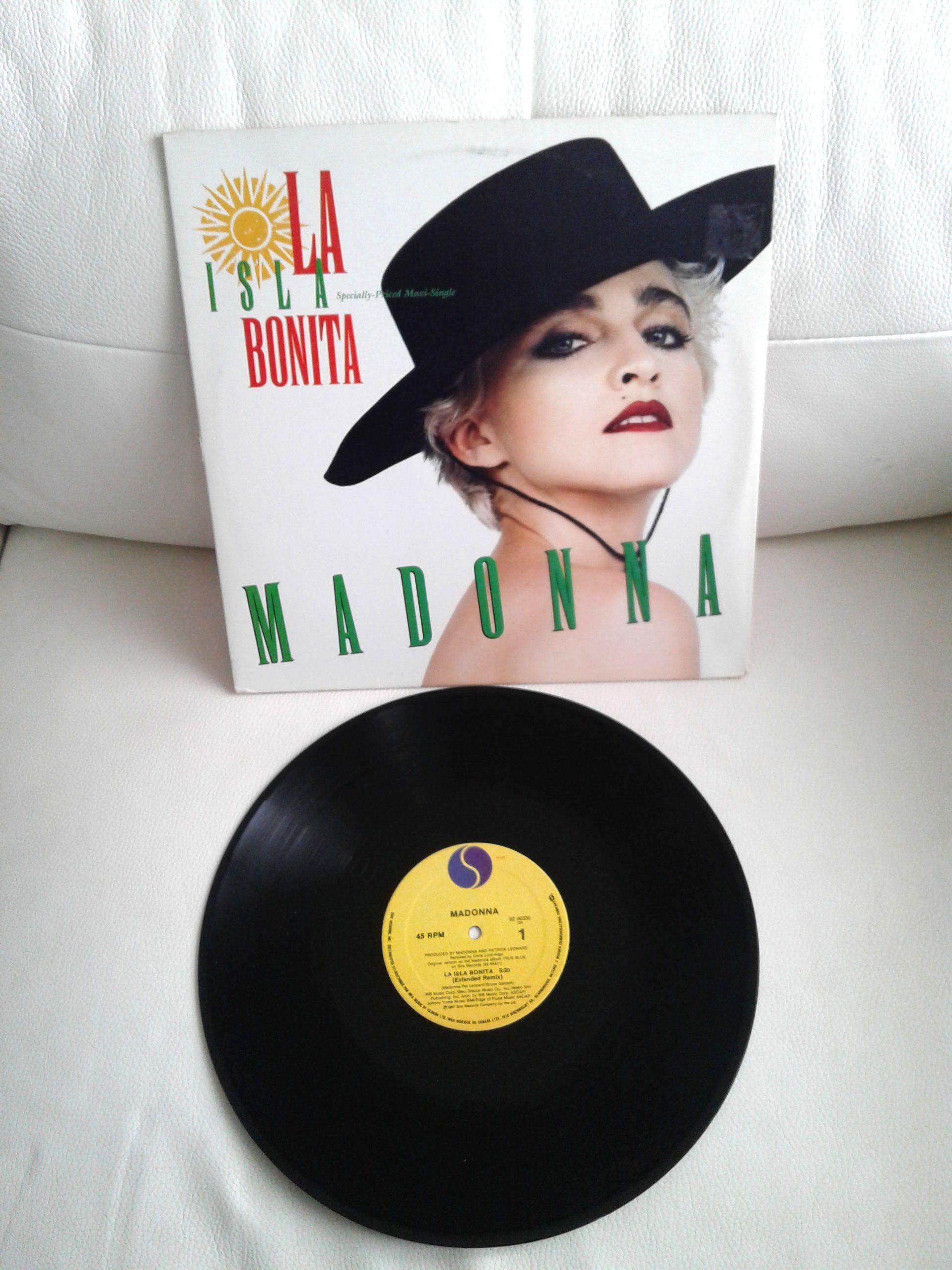 Vintage 1987 Madonna La Isla Bonita 12 Inches Vinyl Record Etsy Vinyl Records Madonna Vinyl