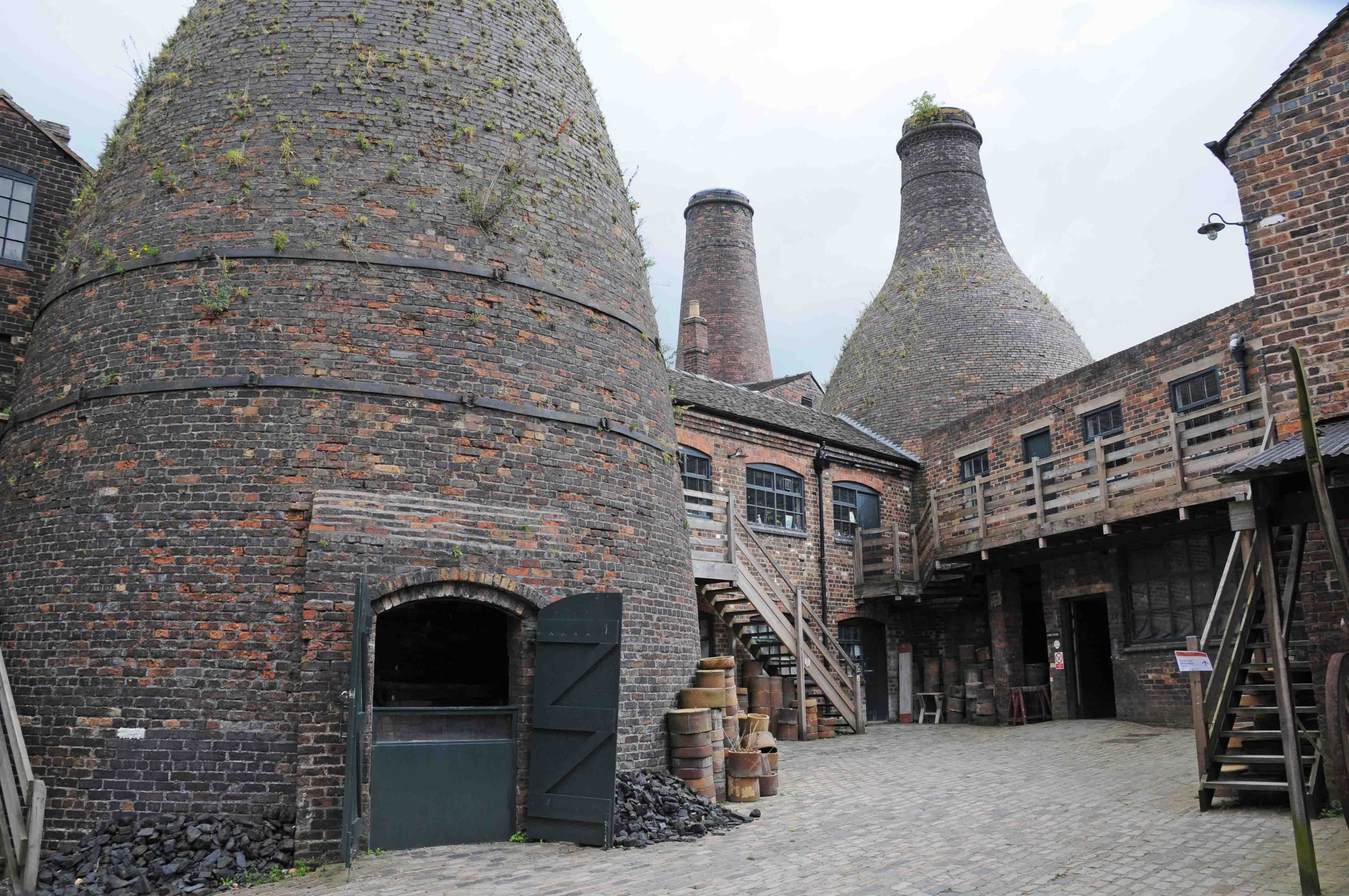 The Old Pottery Kilns In Longton I Remember These Very Well