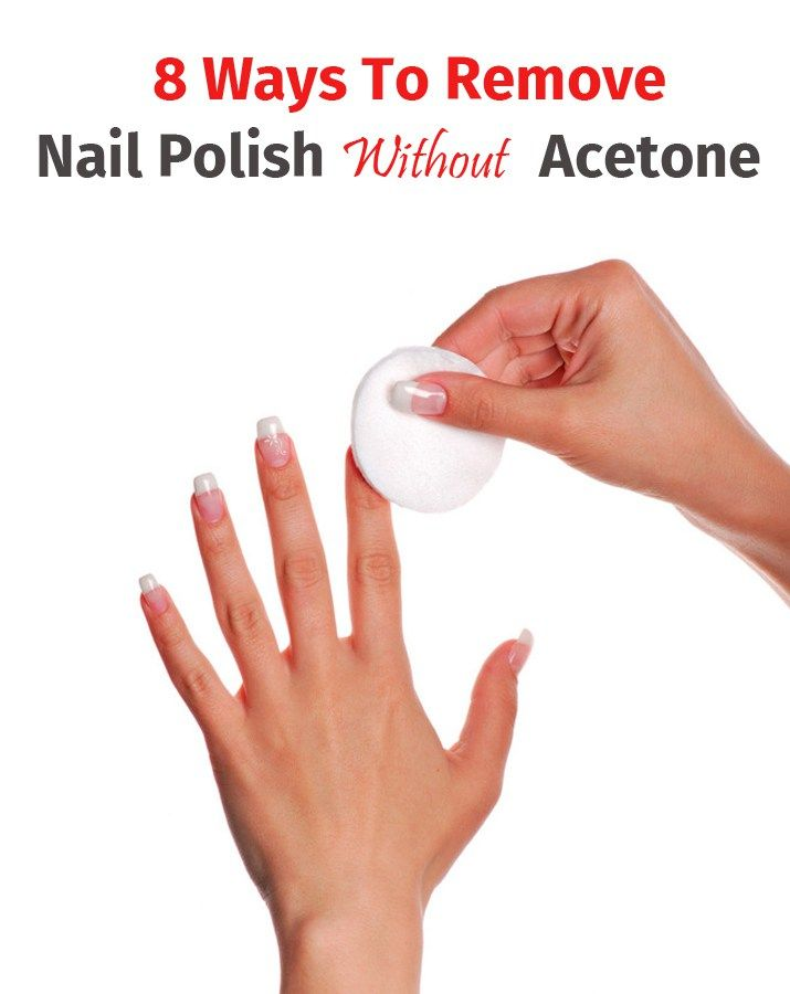 8 Ways To Remove Nail Polish Without Acetone Unhas