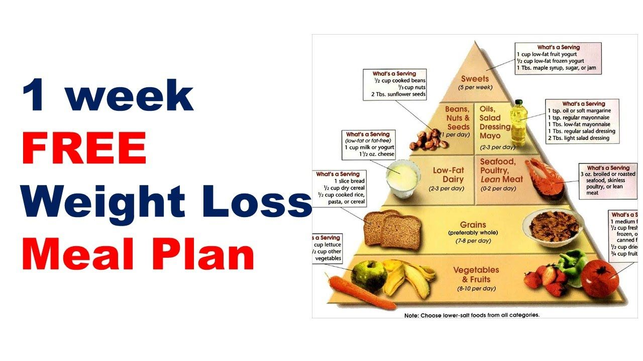 free fat loss diet plans