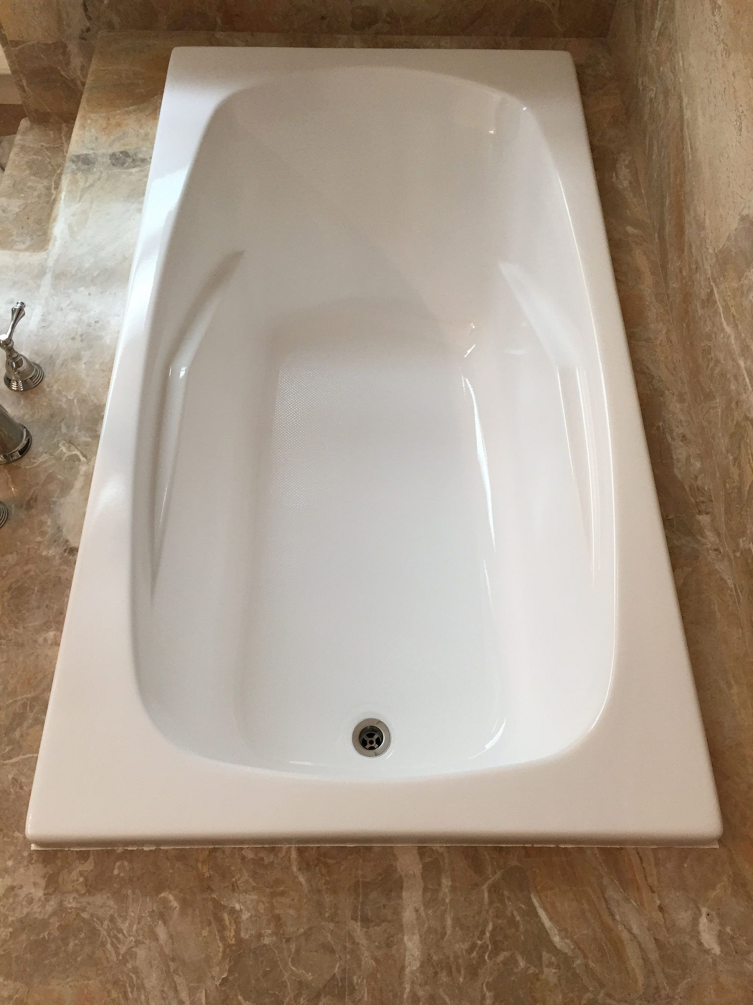 Jacuzzi To Soaker Tub Conversion After