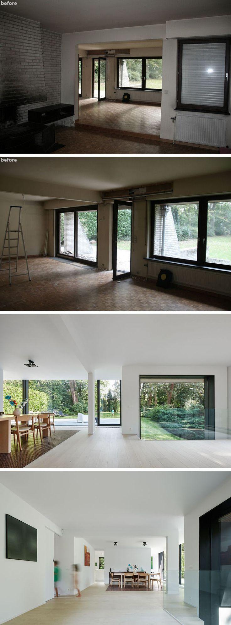 Hausrenovierungen vor und nach dem Abnehmen