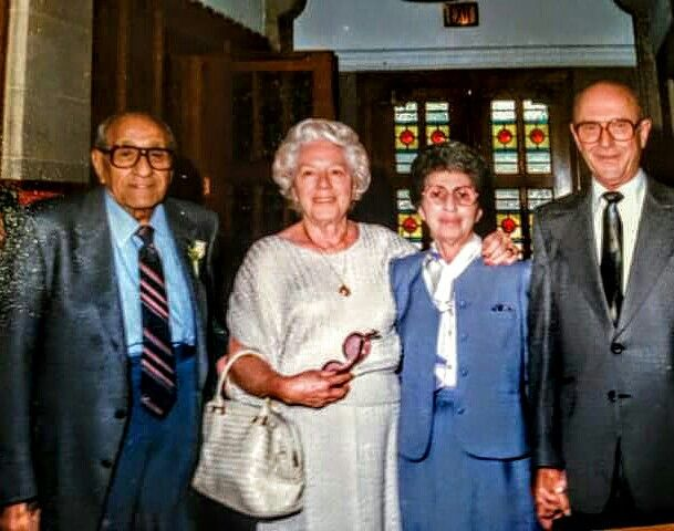 Anthony Accardo With His Wife And Friends Ross Stanger