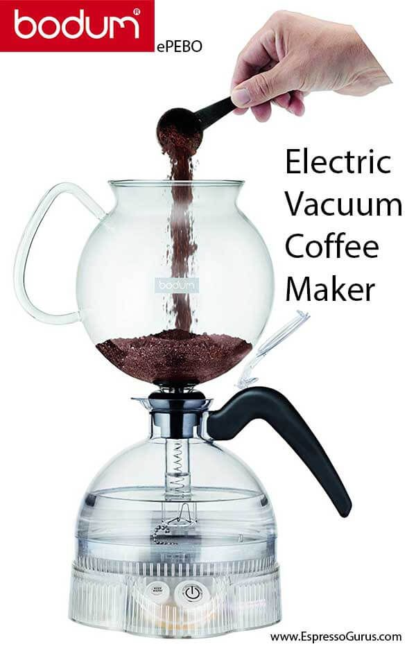 Bodum Epebo Electric Vacuum Coffee Maker Review