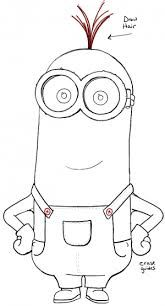 Coloriage Facile Minion.Image Result For Minions Drawing Step By Step Coloriage Minion