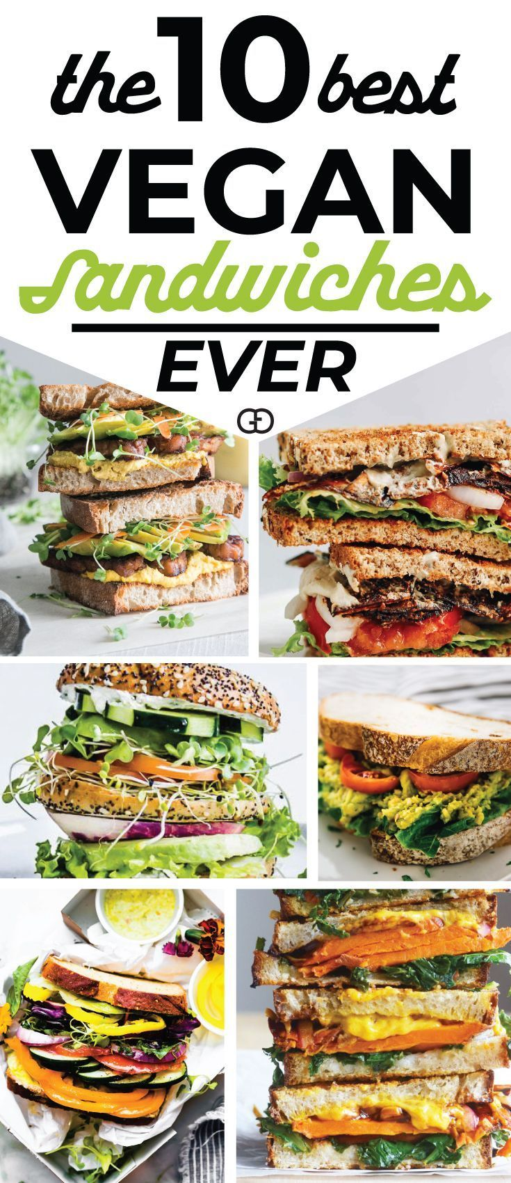 10 Easy Vegan Sandwiches Perfect For Your Awesome Lunch Box #lunchmeatrecipes