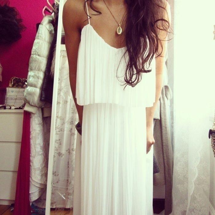 mango kleid weiß