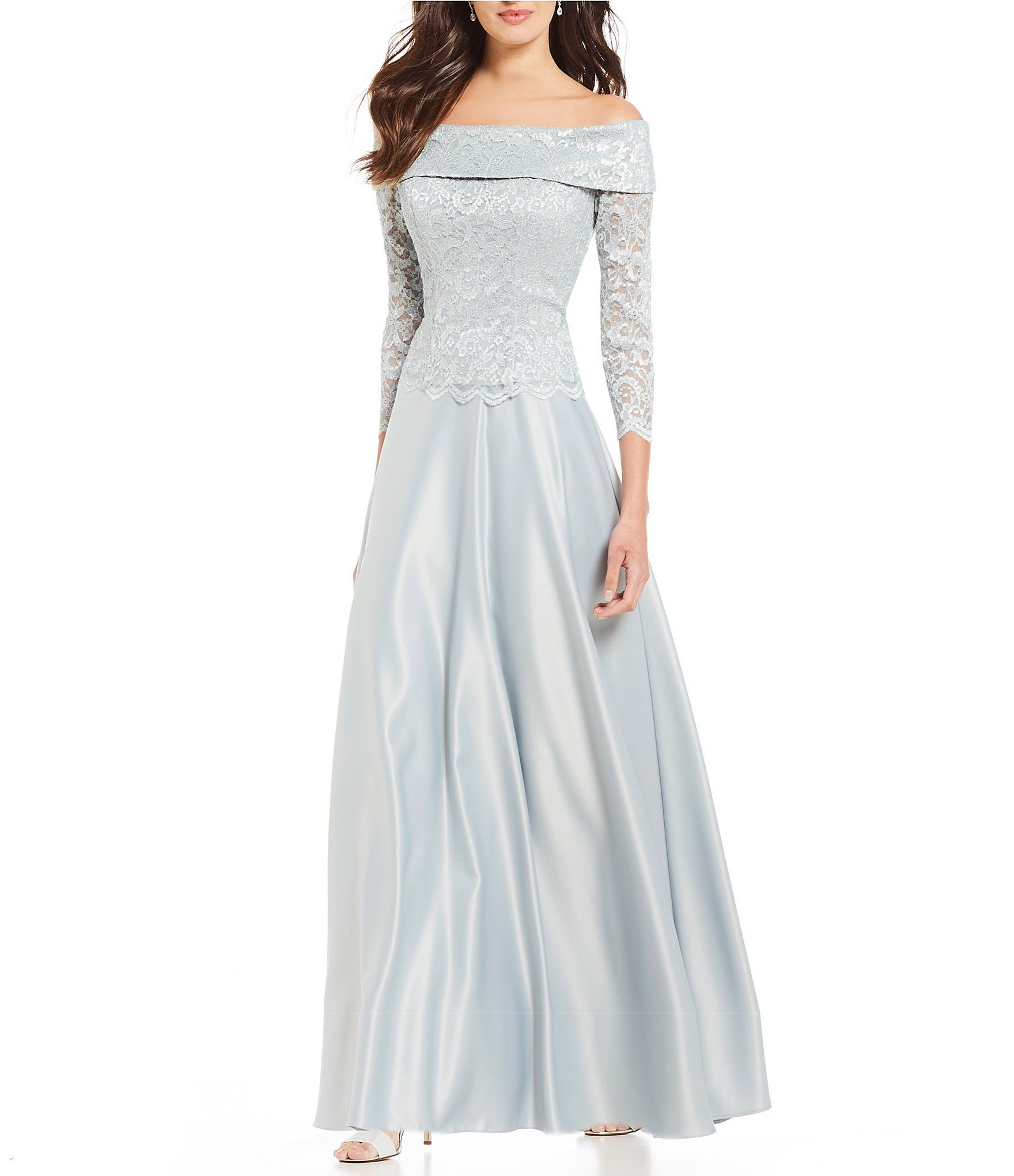 e017ef66fbc Shop for Cachet Off-the-Shoulder Lace Ball Gown at Dillards.com. Visit  Dillards.com to find clothing