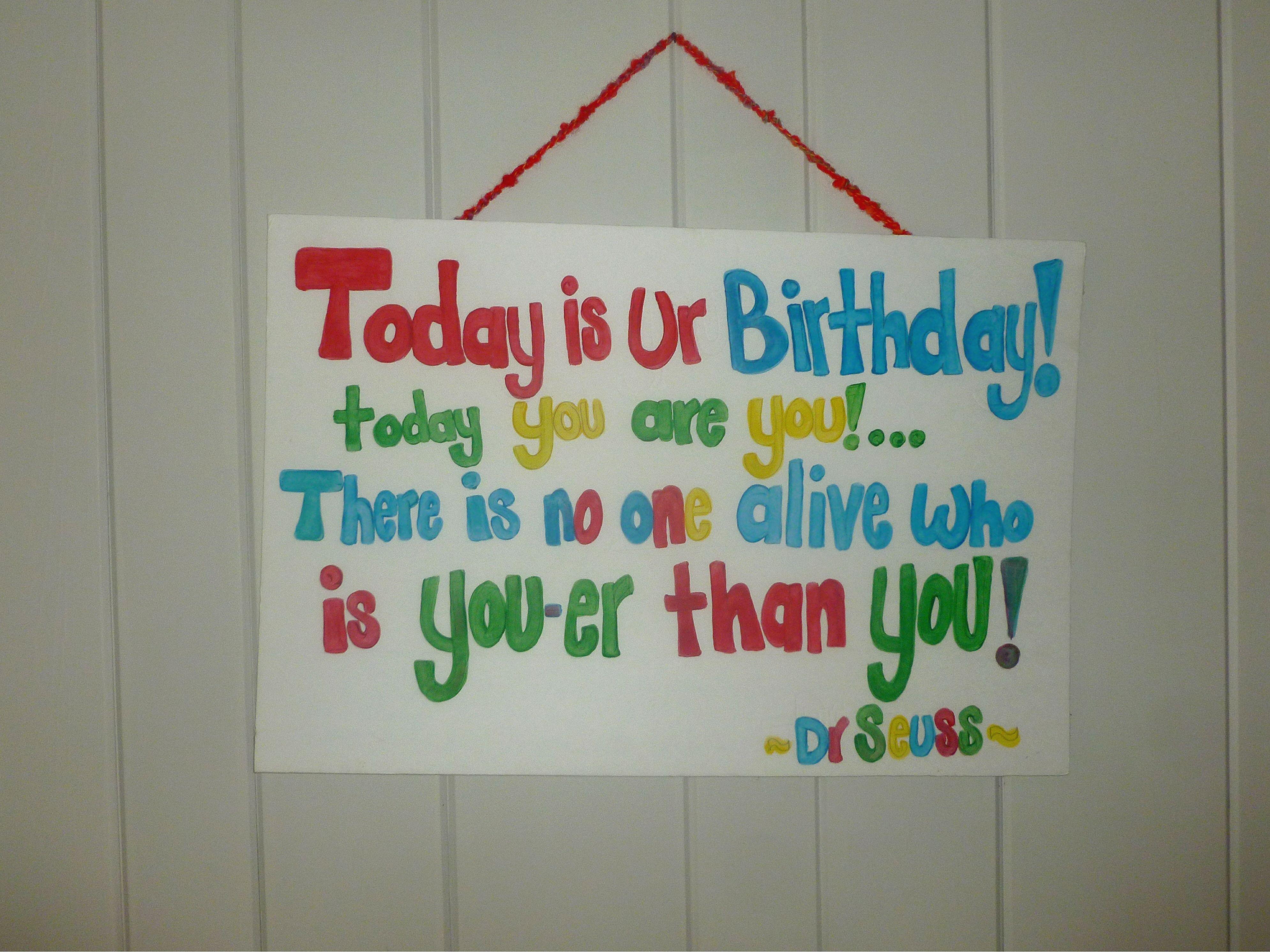 Dr seuss birthday poem dr seuss birthday birthday poems